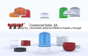 dispositivos modulares acústicos y luminosos