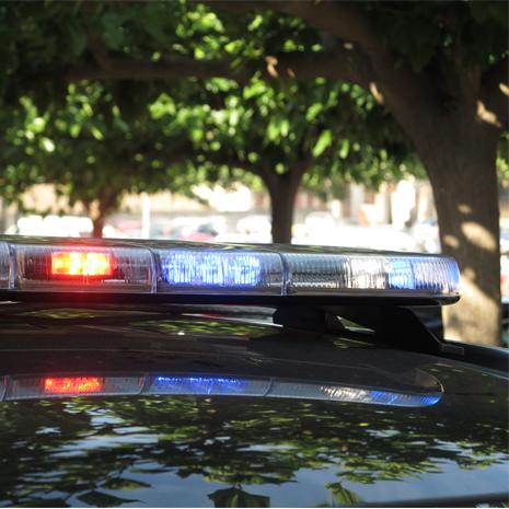 Señalización para vehículos de emergencia y policiales